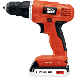 Black & Decker 20V LI Drill/Driver Kit