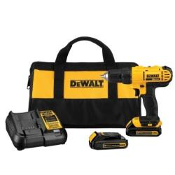 DeWalt 20V MAX Lithium-Ion Cordless Compact Drill/Driver Kit