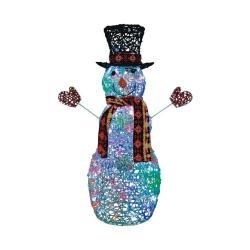 "45"" LED Snowman"