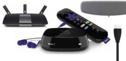Roku 3 Bundle w/ Antenna, Router & HDMI Cable