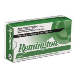 Remington UMC 115-Gr. 50-Ct. 9mm Handgun Ammo