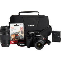 Canon EOS Rebel 18MP DSLR Camera Bundle Kit