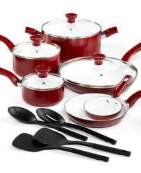 T-Fal Grand Chef Ceramic 14-Pc. Cookware Set