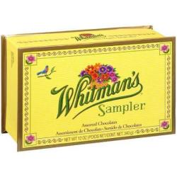 Whitman's Sampler 10- to 12-Oz. Chocolates Boxes for $9.99 - $10.99
