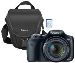 Canon PowerShot SX530 16MP 18x WiFi Digital Camera w/ 8GB Card & Case