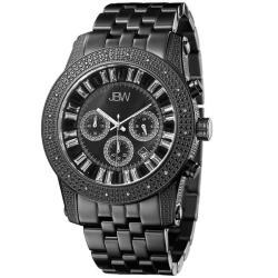 JBW Men's Krypton Chronograph Diamond Watch in Black