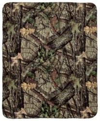 "Bass Pro Shops 50x60"" Camo Fleece Throw"