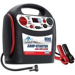 Peak PKC0P6 600-Amp Jumpstart w/ Inflator