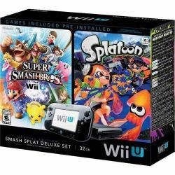 Wii U 32GB Smash Splat Deluxe Console Bundle + $20 Fry's Gift Card