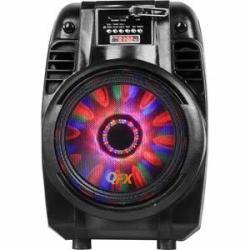 QFX 1500W Peak Powered Rechargeable Speaker w/ Built-in Radio