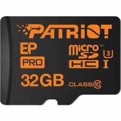Patriot Pro 32GB MicroSDHC Class 10 Memory Card