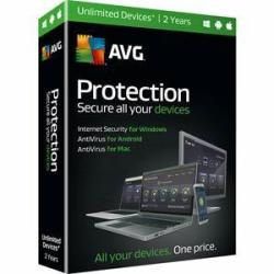 AVG Protection 2016 Unlimited-Device 2-Year Subscription for PC, Mac & Android