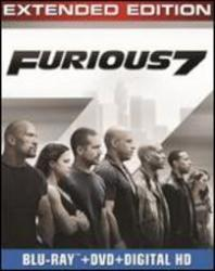 Furious 7: Extended Edition On Blu-Ray/DVD/Digital Copy