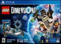 Lego Dimensions Starter Pack, Select Items