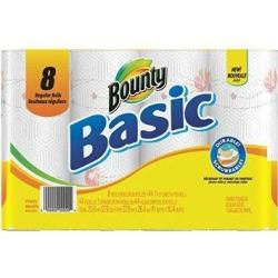 Bounty Basic Paper Towels 8-Pk.