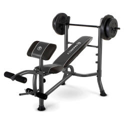 Marcy MWB-20101 Bench & 80-Lb. Weight Set