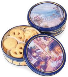 Original Gourmet 12-Oz. Butter Cookies Tin