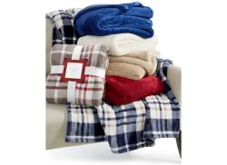 Charter Club Ultra Plush Throw, Assorted Colors