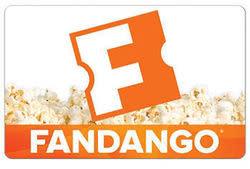 $50 Fandango Gift Card for $45