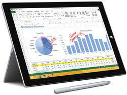 "Refurb Surface Pro 3 12"" 256GB Windows Tablet"