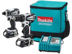 """Makita 18V 1/2"""" Compact Cordless Combo Kit $149"""