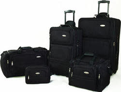 Samsonite 5-Piece Nested Luggage Set for $89