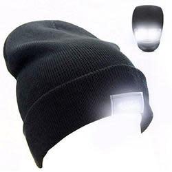 5-LED Winter Beanie Hat for $3