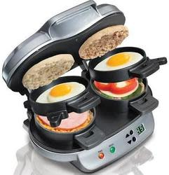 Hamilton Beach Dual Breakfast Sandwich Maker $32