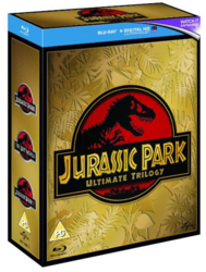 Jurassic Park: Ultimate Trilogy on Blu-ray for $9