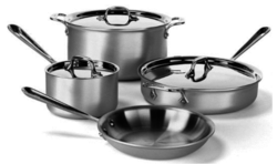 All-Clad Stainless Steel Cookware Sets from $293