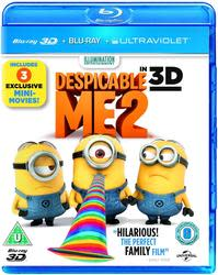Despicable Me 2 on 3D Blu-ray / DVD / Digital $6