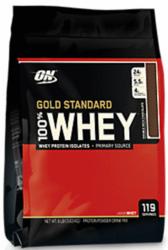 Optimum Nutrition 100% Whey Protein 8-lb. Bag $65