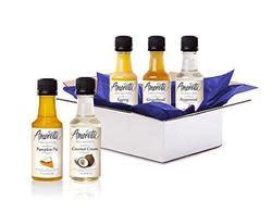 Amoretti Syrup Sample Box, $10 credit