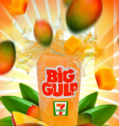 Redbox 1-Night DVD Rental free w/ Mango Big Gulp