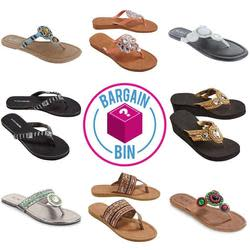 Women's Sandals at Shnoop for $5
