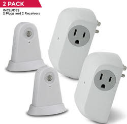 Utilitech Dusk-to-Dawn Security Light 2-Pack $10
